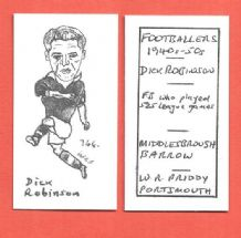 Middlesbrough Dick Robinson 766